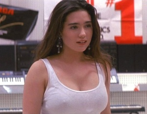 Jennifer Connelly as Josie McClellan in Career Opportunities